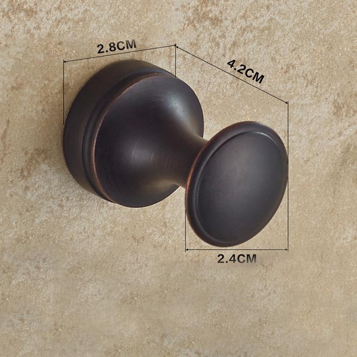 (EU Lager)Mantelhaken Antik Messing Bad Accessoires